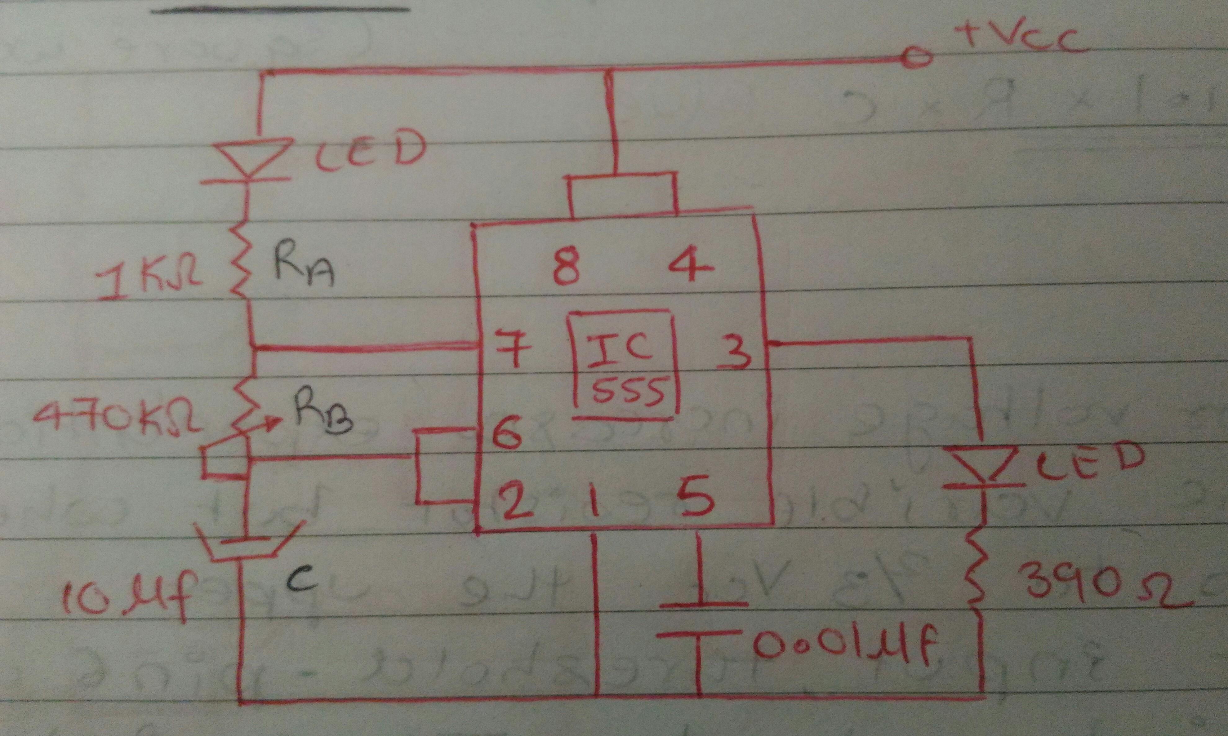 Study Of Ic 555 Timer Jay7mehta Ic555internaldiagram